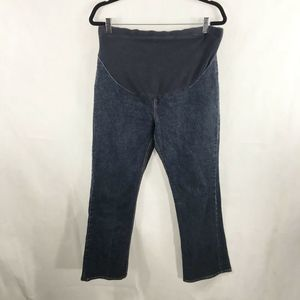 Gap Boot Cut Maternity Dark Wash Jeans Size M/L